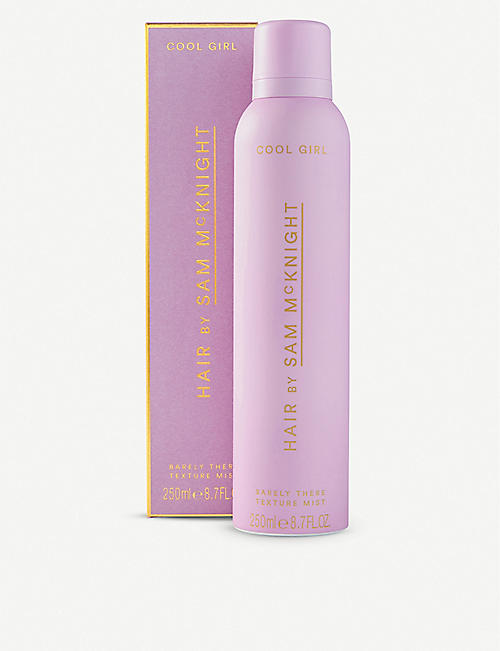 SAM MCKNIGHT: Cool Girl Barely There hair texture mist 250ml