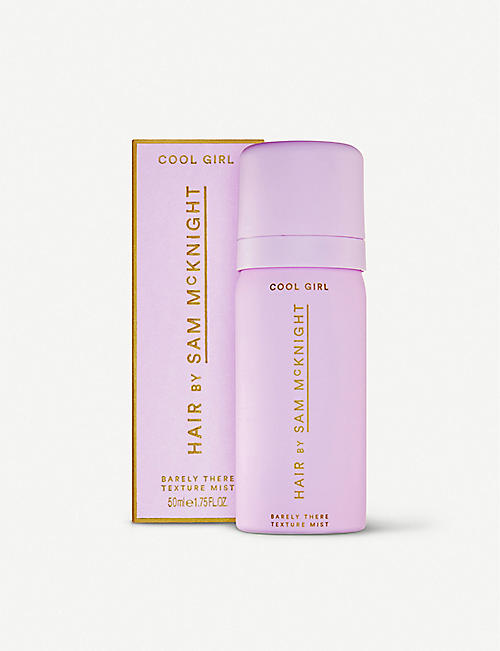 SAM MCKNIGHT: Cool Girl Barely There hair texture mist 50ml
