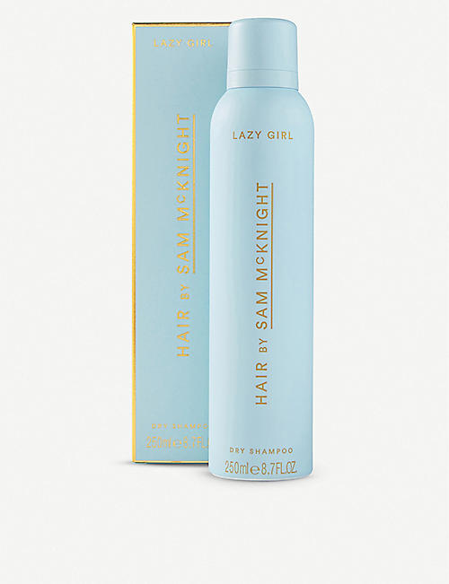 SAM MCKNIGHT Lazy Girl dry shampoo 250ml