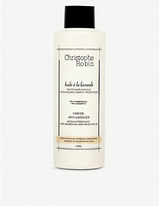CHRISTOPHE ROBIN: Hair Oil with Lavender 150ml