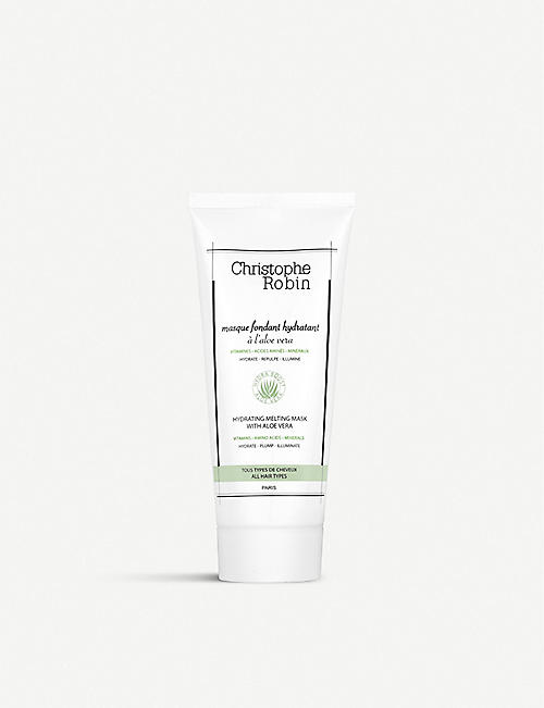 CHRISTOPHE ROBIN: Hydrating Melting Mask with Aloe Vera 200ml