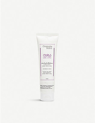 CHRISTOPHE ROBIN: Luscious Curl Cream with Flaxseed Oil 150ml