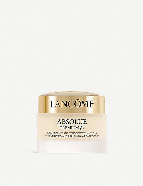 LANCOME: Absolue Premium ßx Radiance Regenerating and Replenishing day cream SPF 15