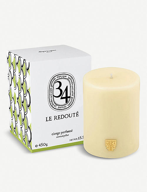 DIPTYQUE La Redoute scented pillar candle 450g