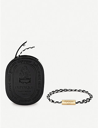 DIPTYQUE: Do Son perfumed woven bracelet