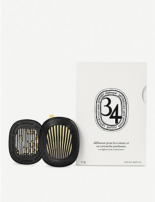 DIPTYQUE: Car Diffuser with 34 Boulevard Saint Germain Insert