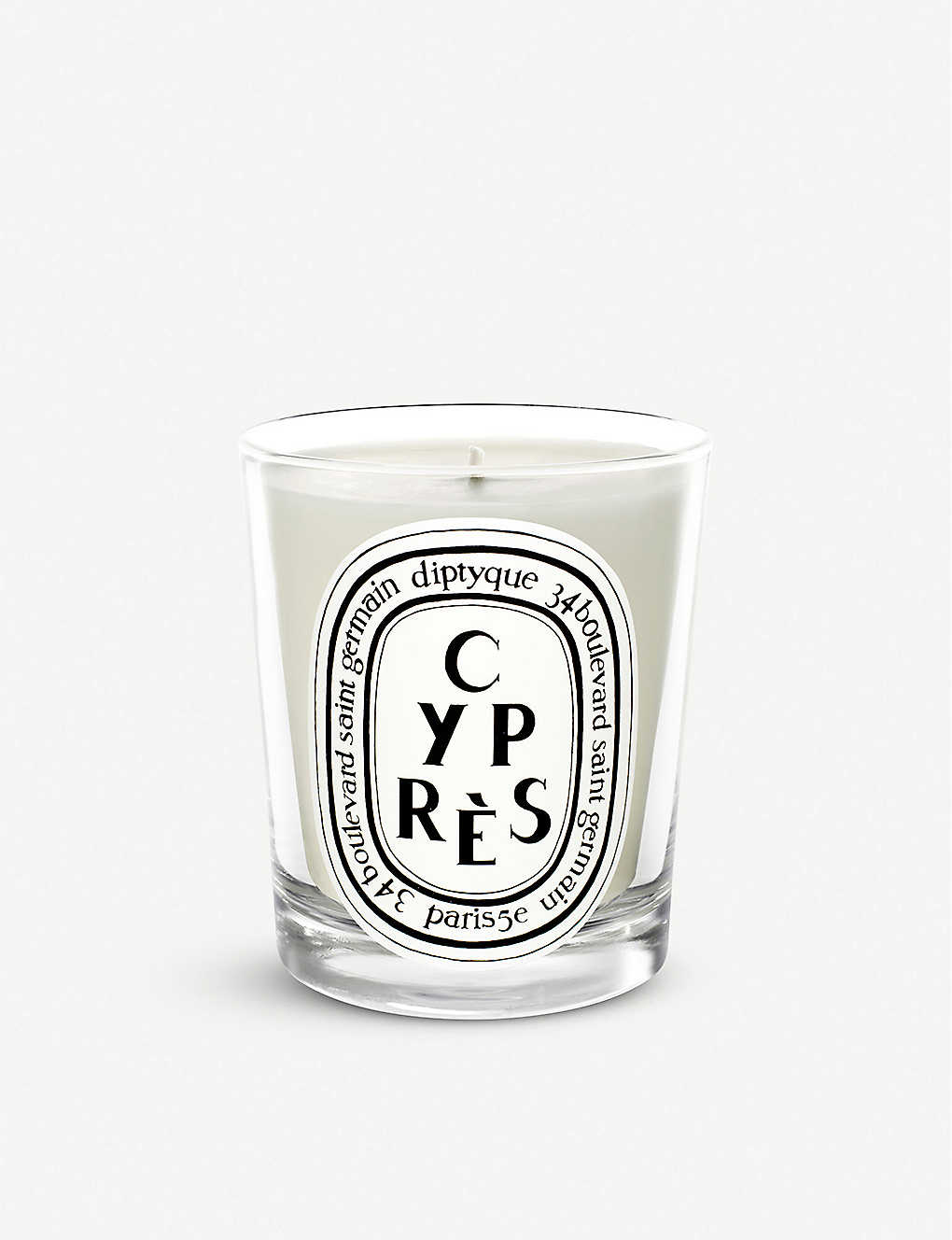 DIPTYQUE: Cypres mini scented candle