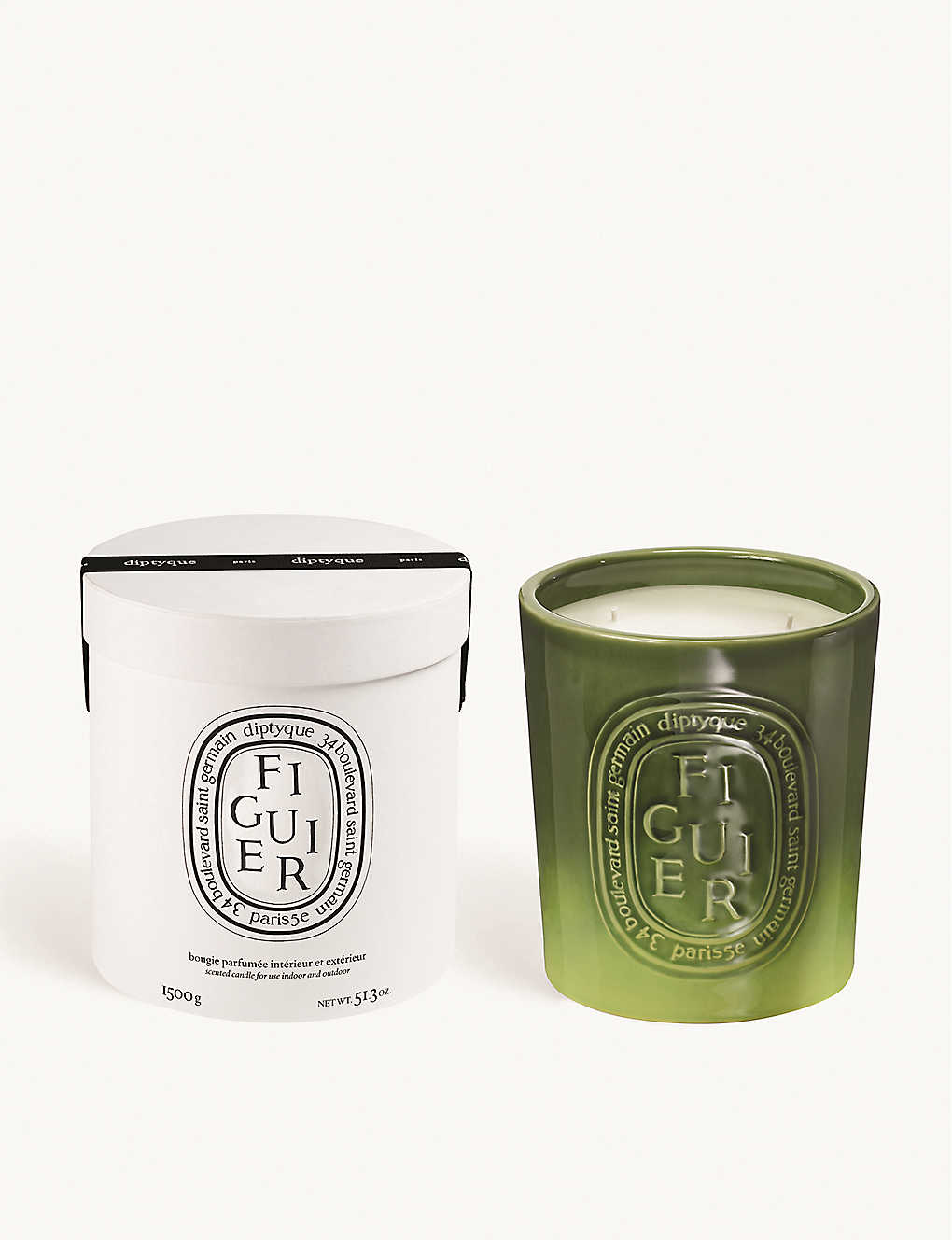 DIPTYQUE   Figuier large candle indoor & outdoor edition 20g ...