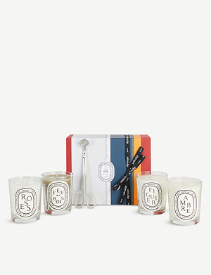 DIPTYQUE Candle Edit gift set of four