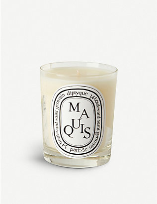 DIPTYQUE: Maquis scented candle