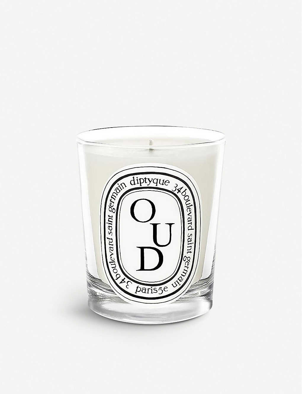 DIPTYQUE: Oud scented candle 190g
