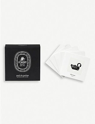 DIPTYQUE: L'Ombre Dans L'Eau perfumed sticker for skin pack of five