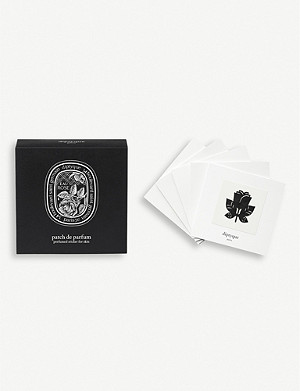 DIPTYQUE Eau Rose perfumed sticker for skin pack of five