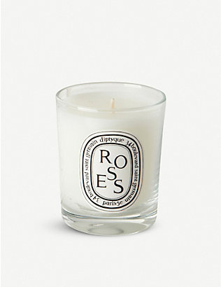 DIPTYQUE: Roses mini scented candle