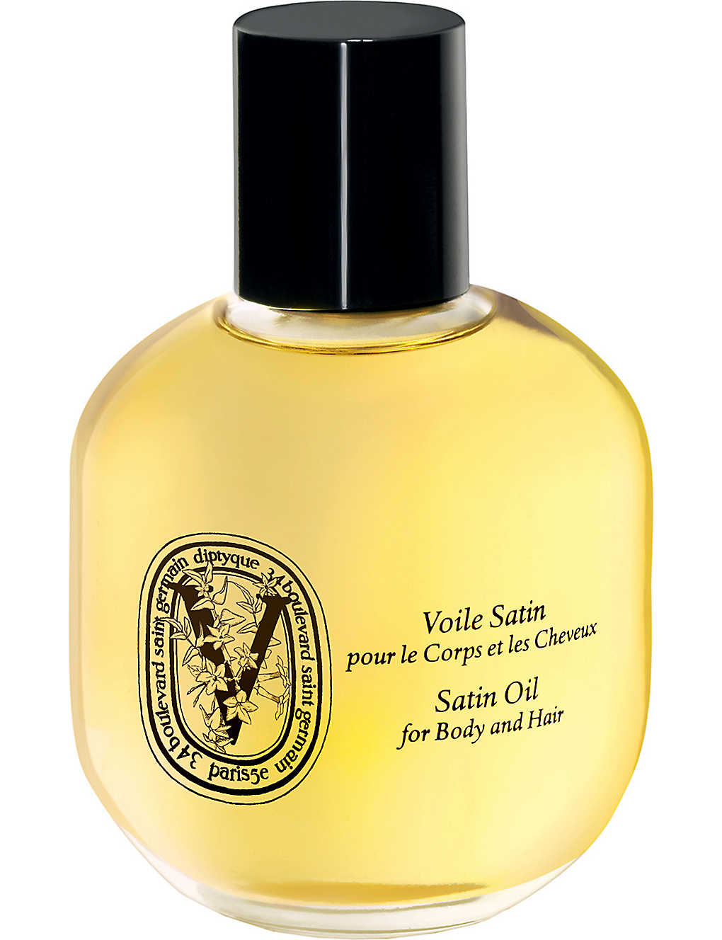 DIPTYQUE: Satin oil for body and hair 100ml