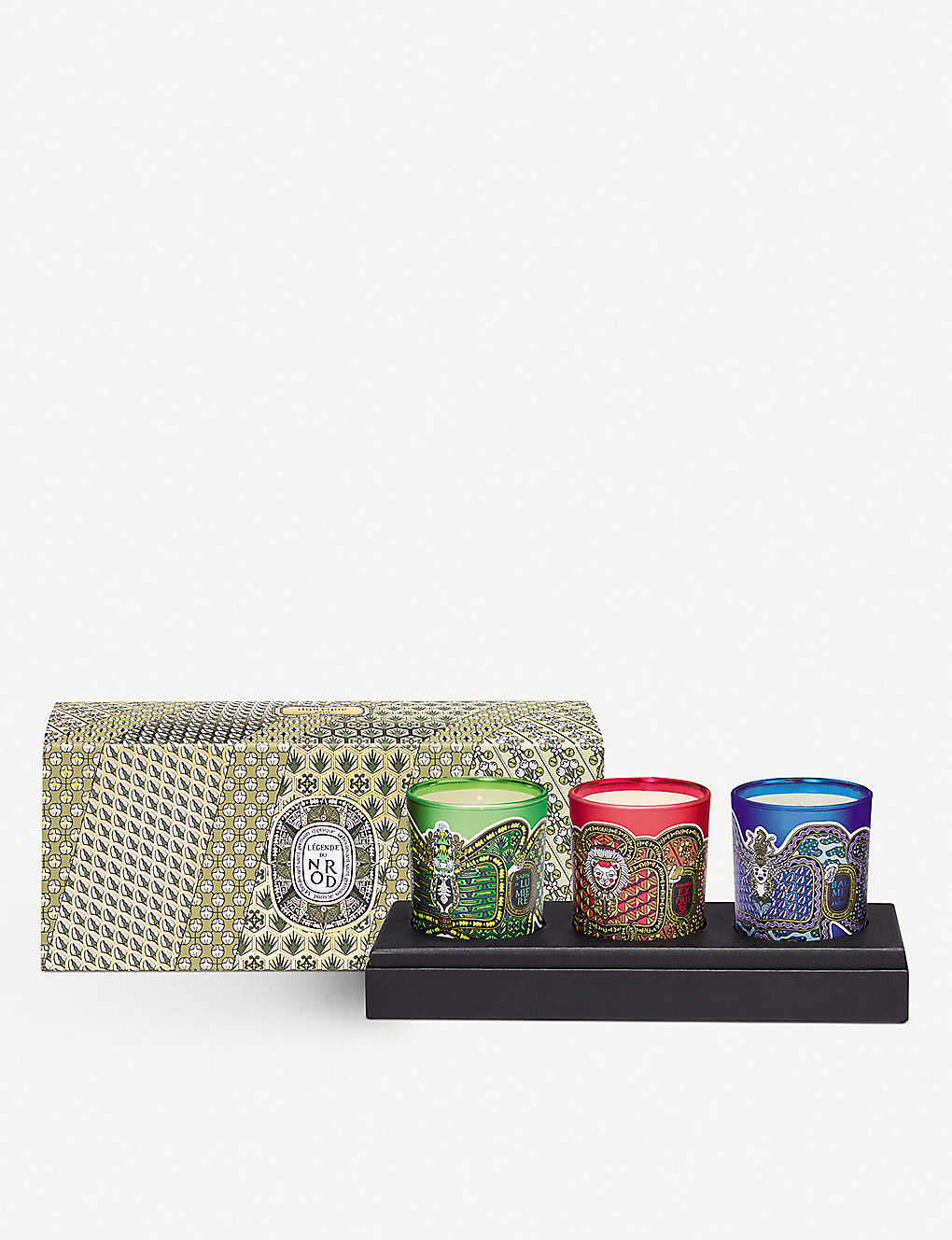 DIPTYQUE: Scented candles set of three