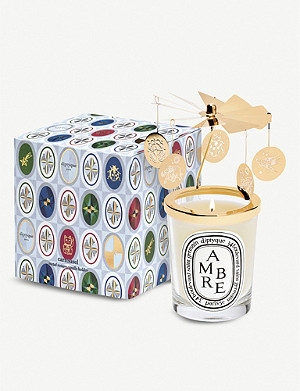 DIPTYQUE Gold-toned candle carousel