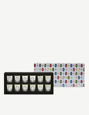 DIPTYQUE Set of 12 mini candles 12 x 35g
