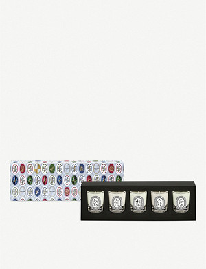 DIPTYQUE Set of 5 mini candles 5 x 35g