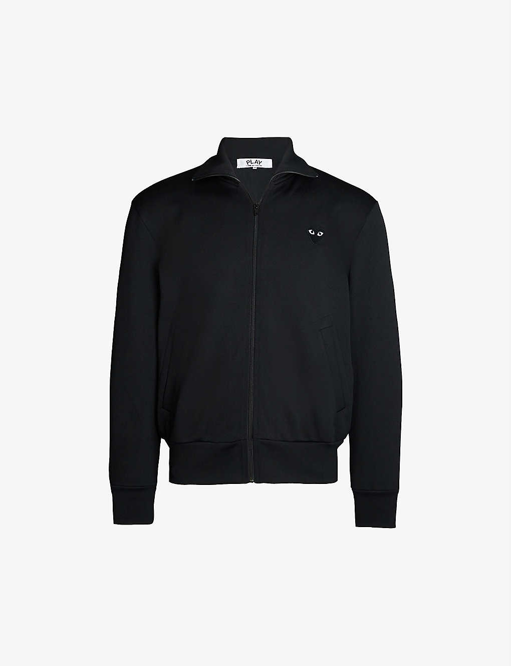 reputable site 459c5 1fd90 COMME DES GARCONS PLAY - Heart-appliqué jersey jacket   Selfridges.com
