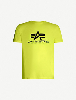 ALPHA INDUSTRIES Logo jersey T-shirt