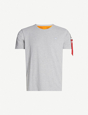ALPHA INDUSTRIES X-Fit cotton-jersey T-shirt