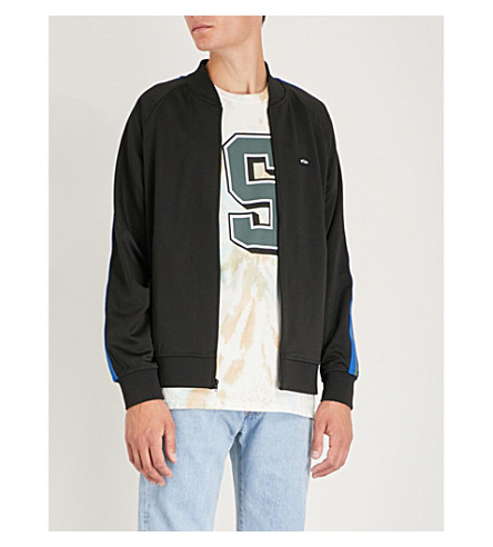 black Side Track Stripe Jacket Jersey Stussy pBXOqwz