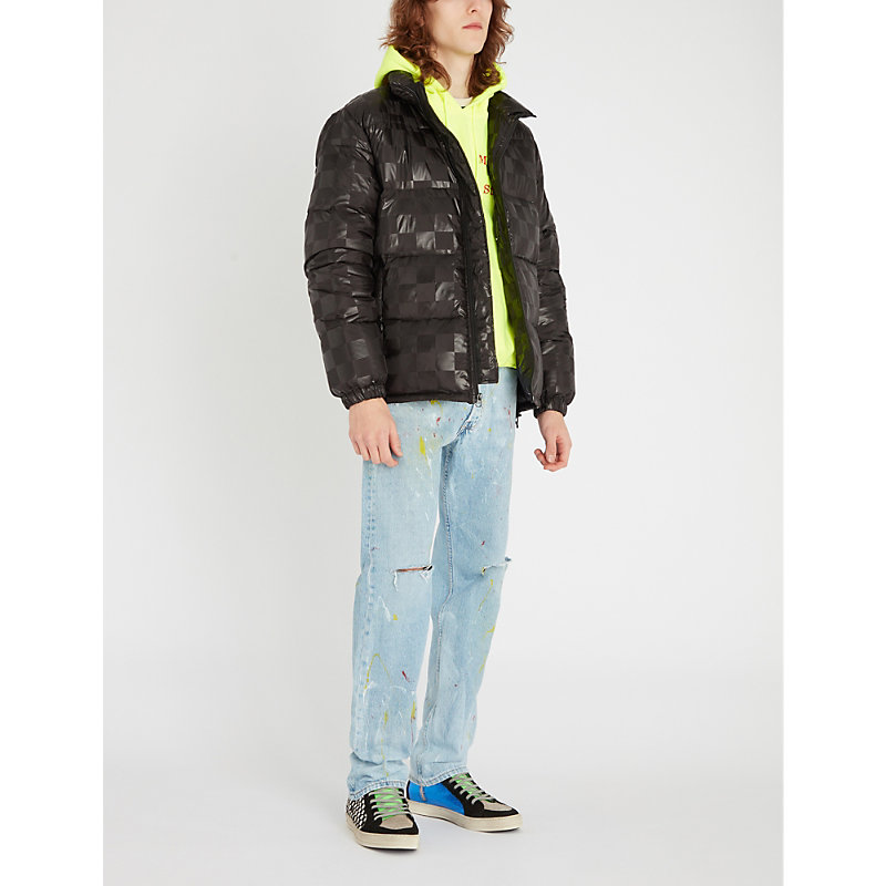STUSSY | Funnel-Neck Shell-Down Puffer Jacket | Goxip