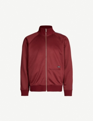 STUSSY Relaxed-fit jersey jacket