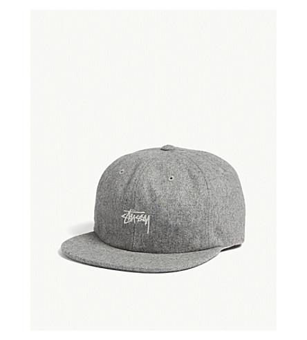 a2a60229702 STUSSY Melton wool cap (Grey