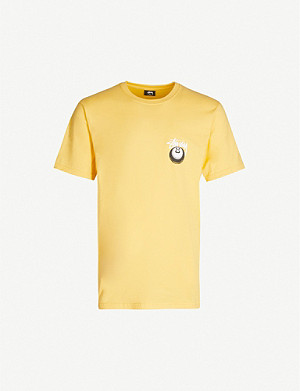 STUSSY Cobra 8 cotton-jersey T-shirt