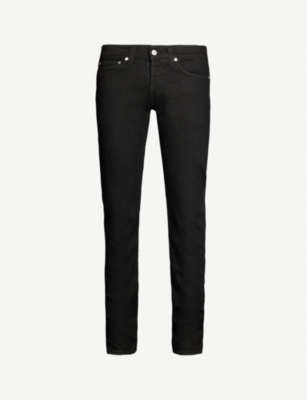 HELMUT LANG Straight mid-rise jeans