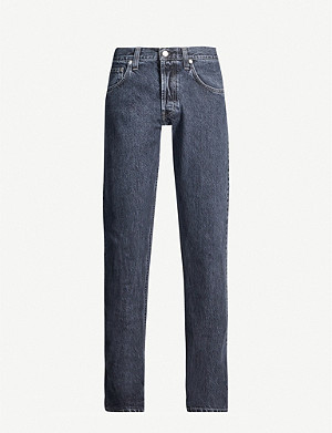 HELMUT LANG Faded straight jeans