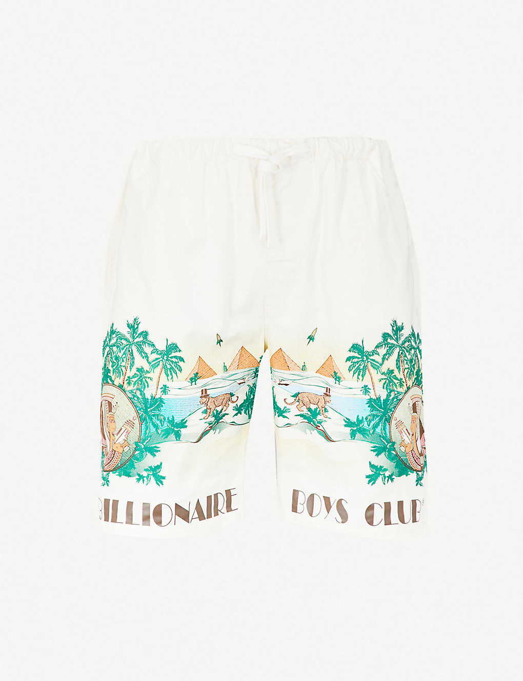 a479540f1b5e1 BILLIONAIRE BOYS CLUB - Landscape-print cotton shorts | Selfridges.com