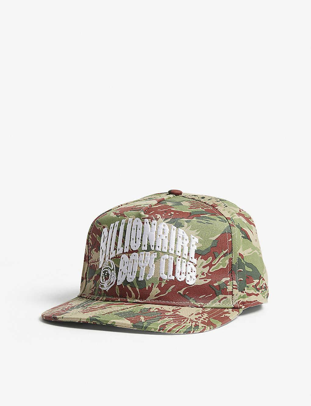 6c00e527 BILLIONAIRE BOYS CLUB - Lizard camouflage print cotton snapback cap ...
