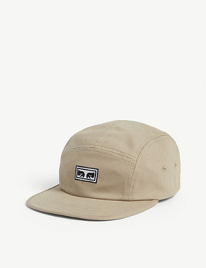 OBEY Eyes logo cotton cap