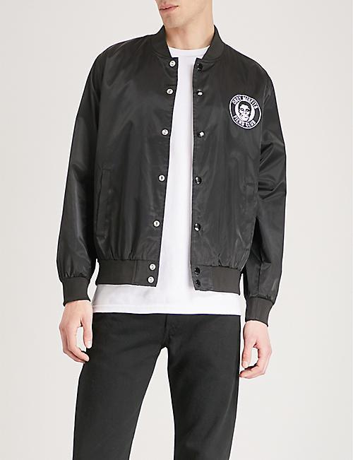 6e2ce1523 OBEY - OBEY x Misfits Fiend Club patch satin-shell jacket | Selfridges.com