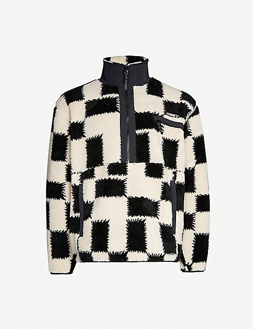 OBEY Two-tone fleece jacket