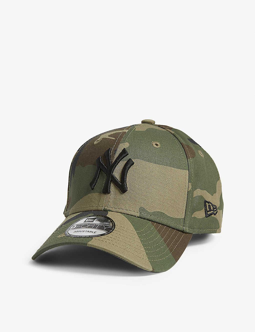 840139225 NEW ERA - New York Yankees 9FORTY camouflage-print baseball cap ...