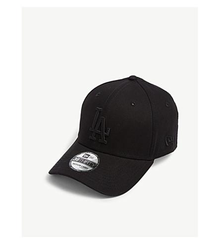 9f8b9acce6d NEW ERA LA Dodgers 39THIRTY baseball cap (Black