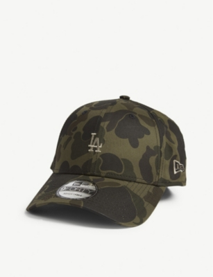 NEW ERA Los Angeles Dodgers 9FORTY camouflage-print baseball cap