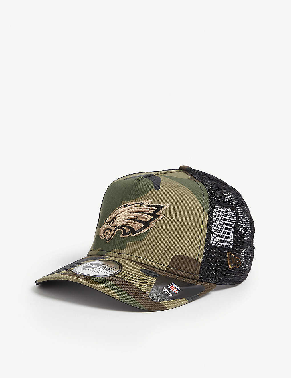 b23a7d87 Philadelphia Eagles camouflage mesh snapback cap