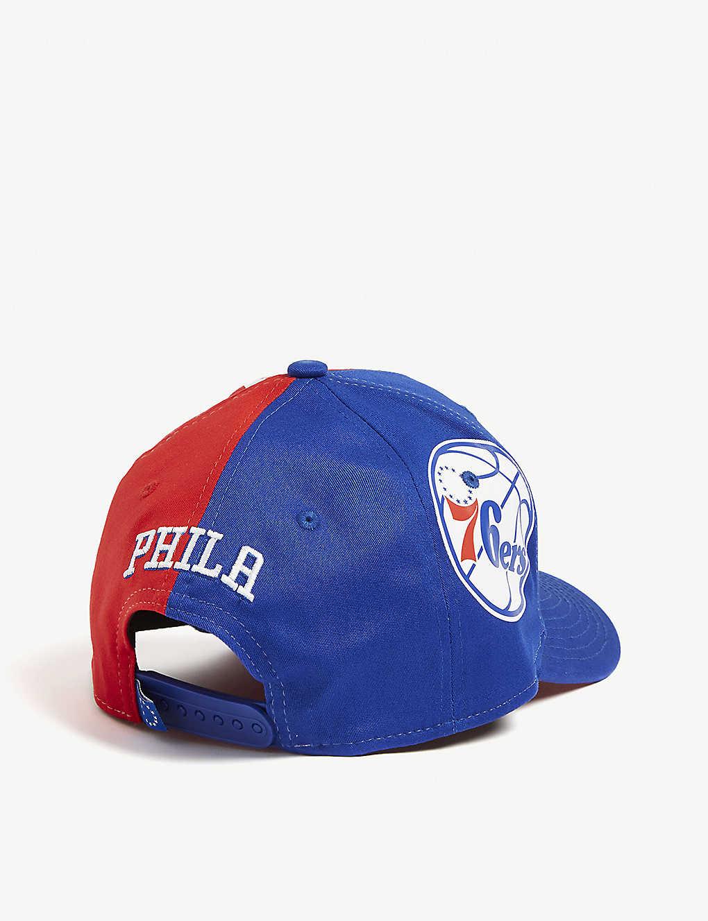 lowest price 46506 1515c ... Philadelphia 76ers 9Fifty cap - Blue red zoom