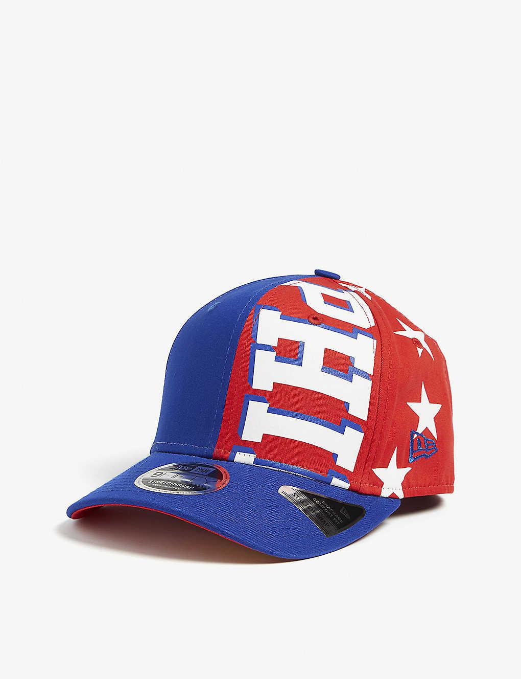 best cheap 07941 434ea Philadelphia 76ers 9Fifty cap - Blue red ...