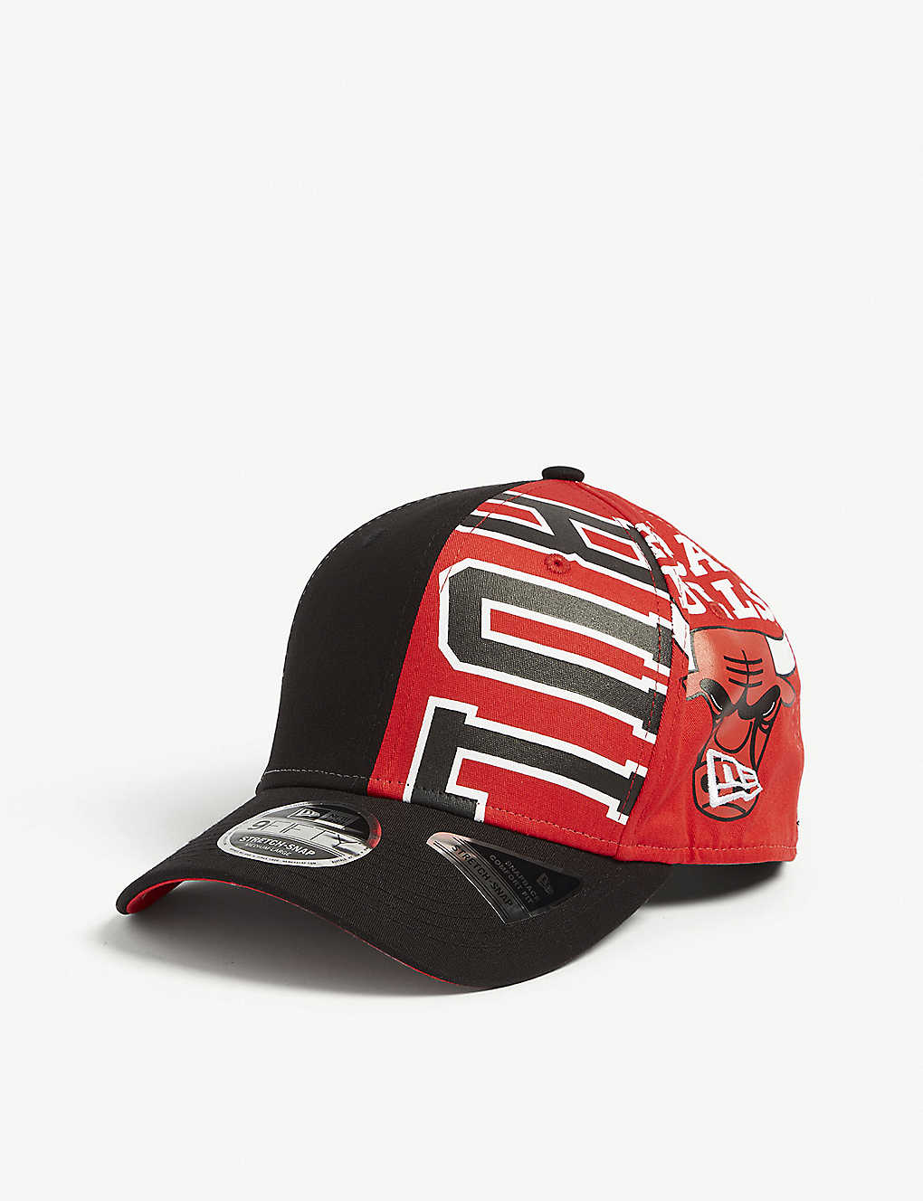 hot sales b4a93 5f843 Chicago Bulls 9FIFTY snapback cap - Black red ...