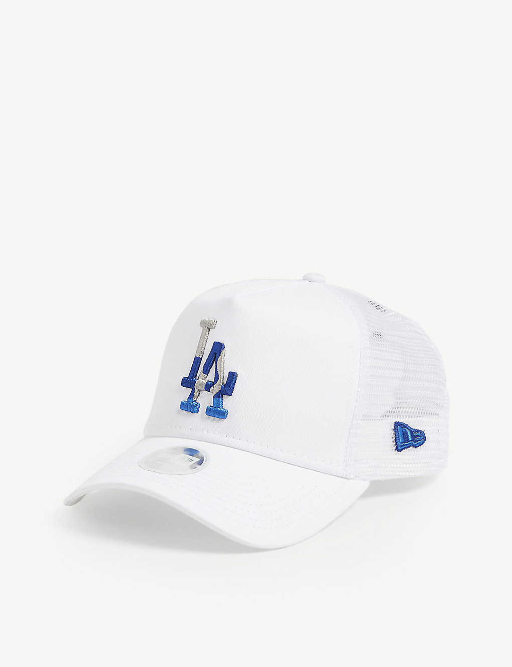 new concept 63548 8fd77 Los Angeles Dodgers mesh snapback cap - White ...