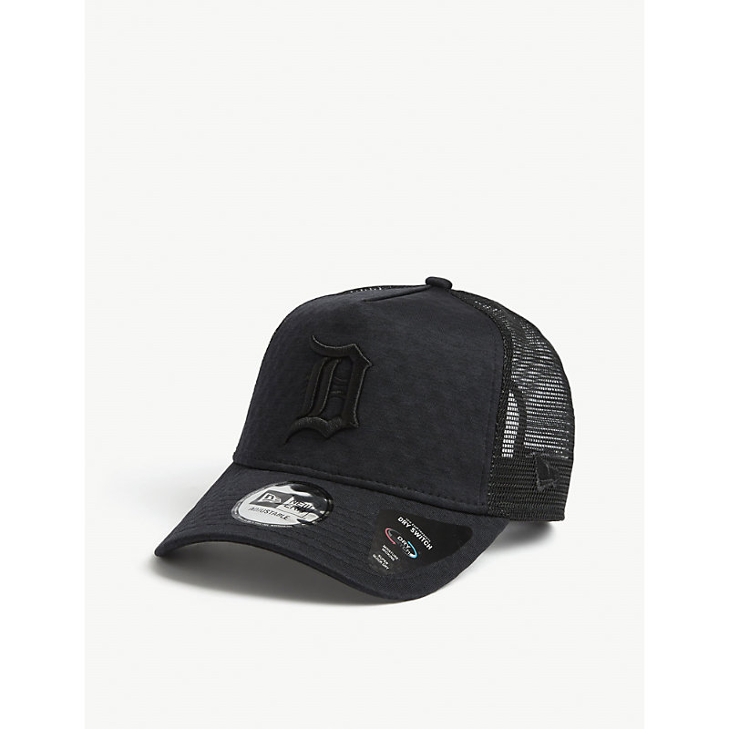 New Era Detroit Tigers Trucker Cap In Black