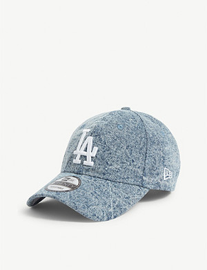 NEW ERA 9twenty Los Angeles Dodgers cotton denim baseball cap