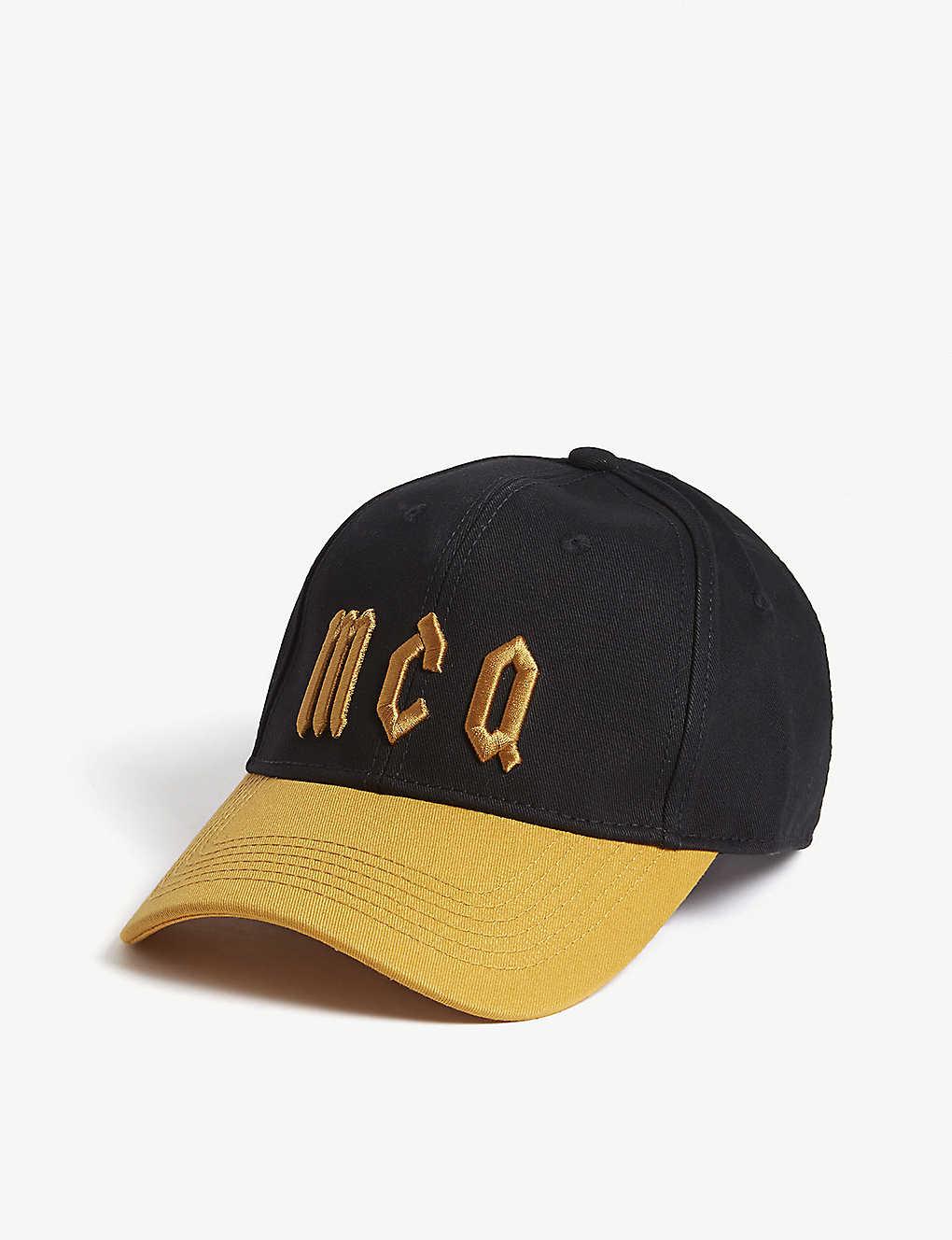ad626c81096b6 MCQ ALEXANDER MCQUEEN - Logo cotton baseball cap