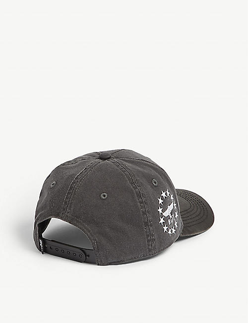 BOY LONDON 2 Face cotton snapback cap